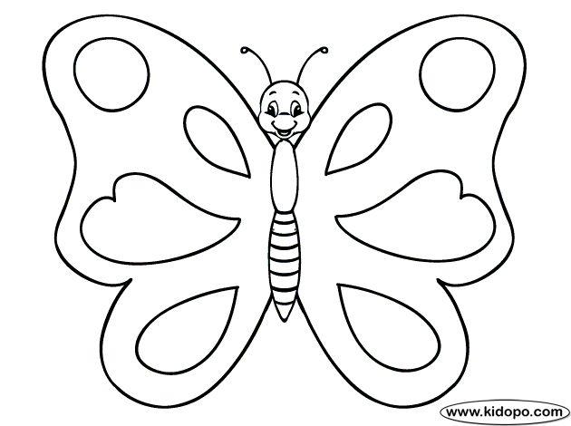 Dibujos para colorear. Maestra de Infantil y Primaria.: Mariposas para colorear