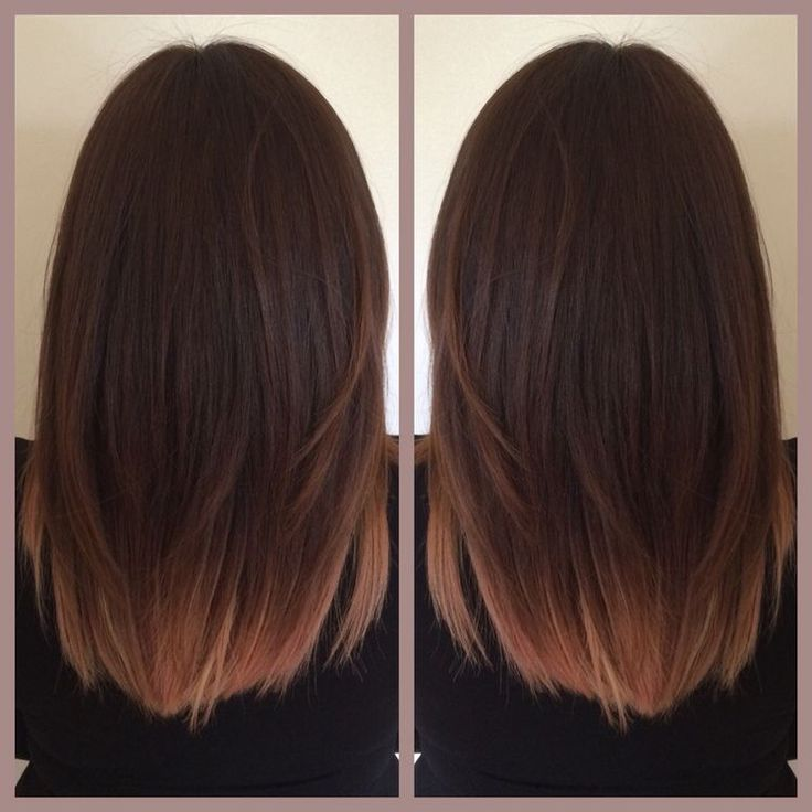 Brunette & Rose Gold  This is perfect! Subtle.