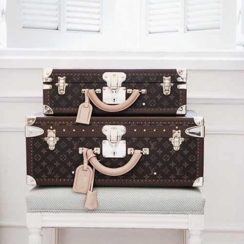 Season Style. Louis Vuitton Vintage Trunk. Travel Accessories For Women and Men. #Louis #Vuitton #Handbags