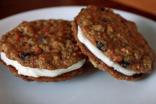 Carrot Cake Sandwich Cookies Recipe From Martha Stewart Cookies ...
