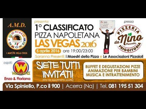 05/04/2016 - Pizzeria da Nino Acerra (NA) - Festa per Nino Pannella vincitore ai Campionati di Las Vegas nella categoria Pizza Napoletana