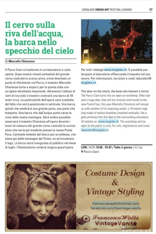 LongLake festival 2014 Magazine Page 2-27  chek it Out  http://issuu.com/dge.lugano/docs/ll_magazine_2014_web