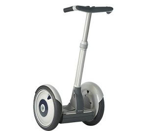 An object I find very interesting is a Segway. This object has a few constraints and they are listed in order of relative importance as follows:  -Function- means of transportation (inherent)  -Form-designed for a person to stand on it (imposed)  -Budget- sells for around $5,000 (imposed)  -Environmental impact- reduces pollution and gas expenses (inherent)