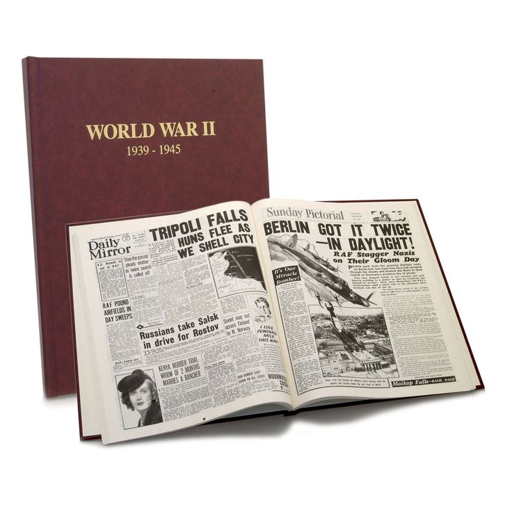 What The Papers Said - WWII. Reading about World War ll through the replica pages of contemporary newspapers as events unfolded is an extraordinary experience that brings those troubled times vividly to life. This tabloid-sized book provides a fascinating insight into events as the war was being fought, and makes gripping reading for any student of the period or anyone who may have lived through it.