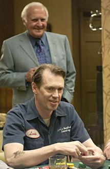 "The Sopranos - Season 5 - Robert Loggia as Michele ""Feech"" La Manna, Steve Buscemi as Tony Blundetto"