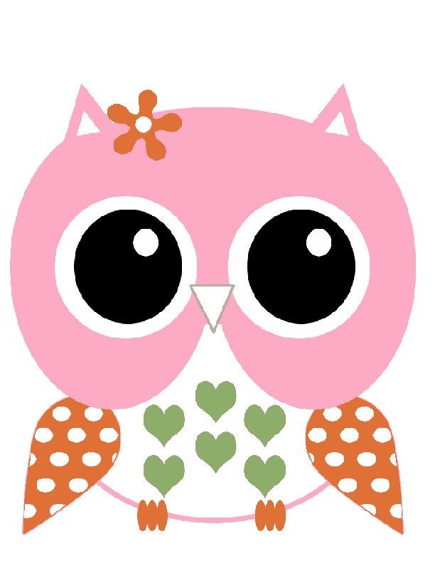 Pin the Beak on the Owl Birthday theme Party Game