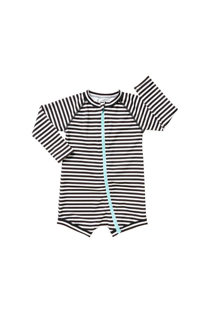 bonds   baby swim zip suit