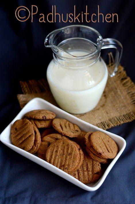 Ragi Biscuits-finger millet cookies