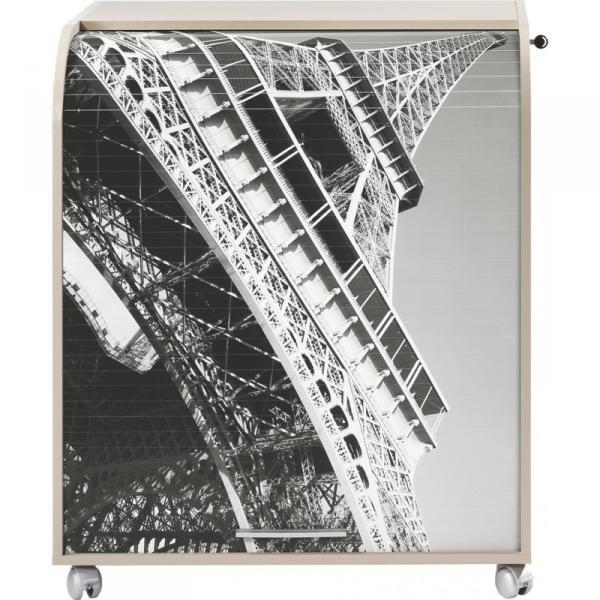 Bureau Informatique A Rideau Taupe Imprime Tour Eiffel Must Lestendances Fr Rideau Taupe Meuble Informatique Rideaux