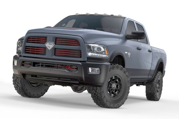 "One Of A Kind ""Man of Steel"" Dodge RAM Truck Auctioned Off For Charity ... InventorSpot"