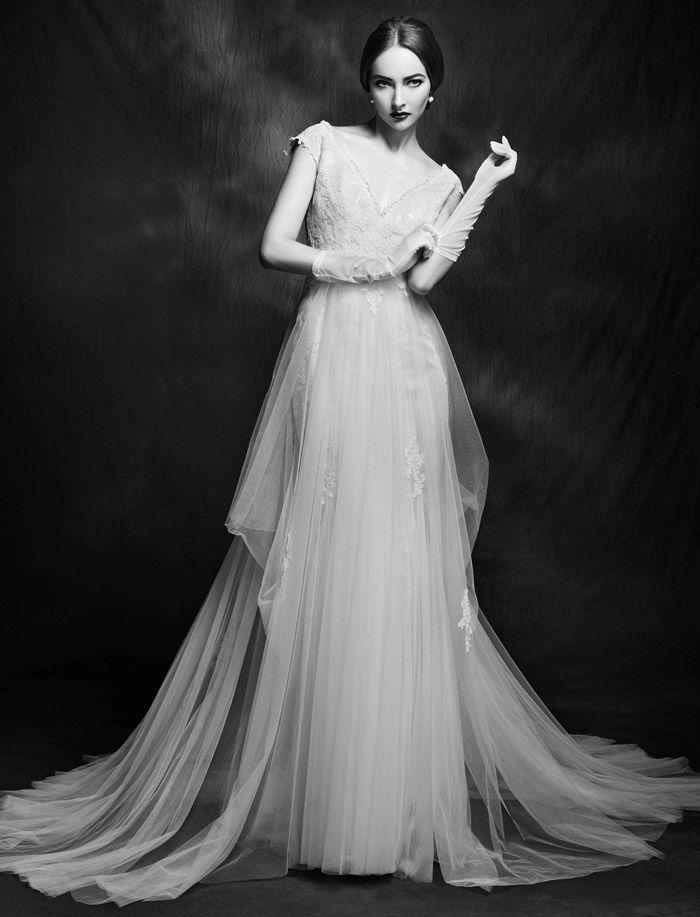 Lusan Mandongus Wedding Dresses | Bridal Collection 2015 | http://www.itakeyou.co.uk/wedding/lusan-mandongus-wedding-dresses-2015 #weddingdresses #weddinggown