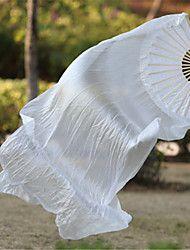 Danza del Vientre Accesorios de Escenario Mujer Unisex Representación Entrenamiento Satén elástico (tacto seda) 2 Piezas Varita