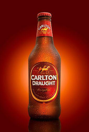 Carlton Draught, beer photography