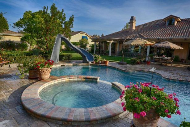 1000 ideas about above ground pool slide on pinterest - Small above ground swimming pools ...