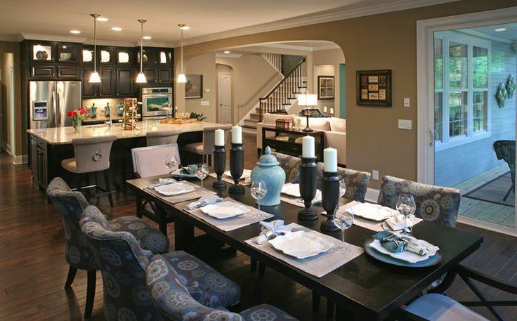 bennett model dining room preservation pointe by standard pacific pinterest room and kitchens. Black Bedroom Furniture Sets. Home Design Ideas