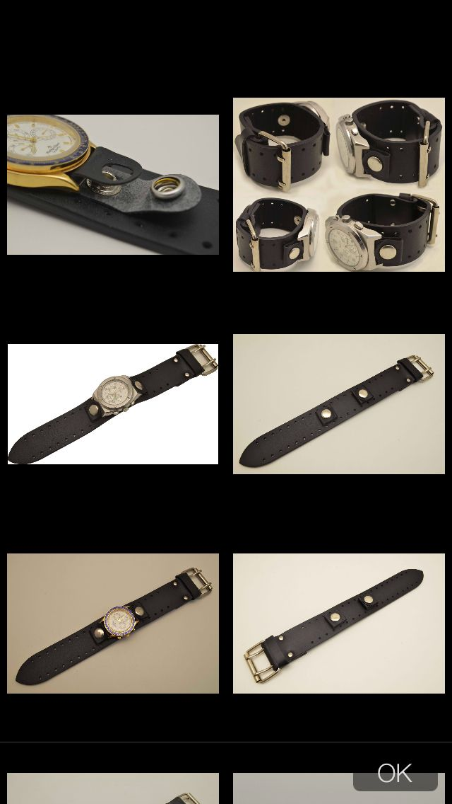 DIY leather watch band