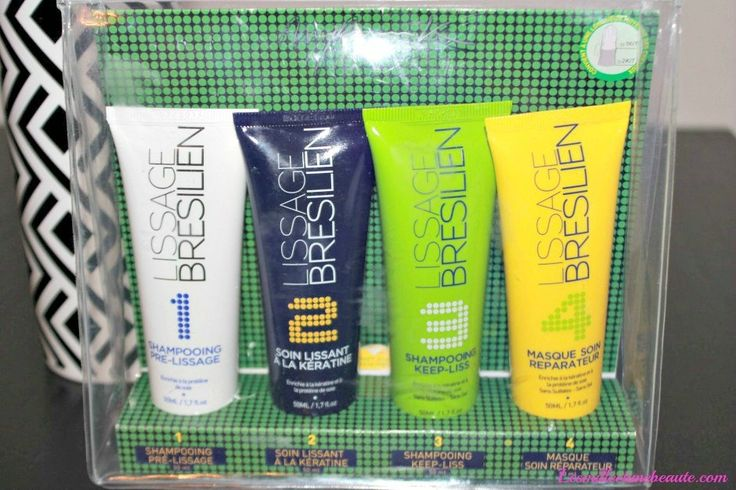 kit lissage bresilien myriam K #beaute #beauty #hair #cheveux #lissagebresilien