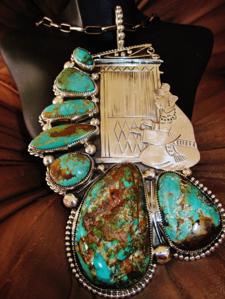 1000 images about turquoise and indian jewelry on for Southwestern silver turquoise jewelry