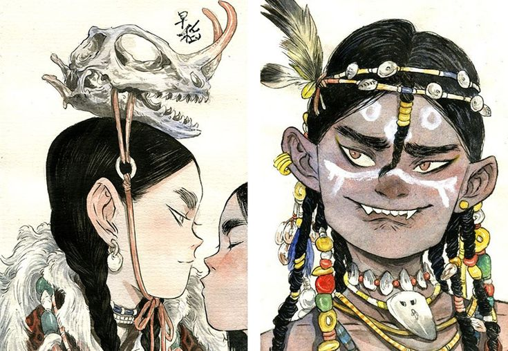 The Illustrations of Zao Dao Capture A Certain Spirit