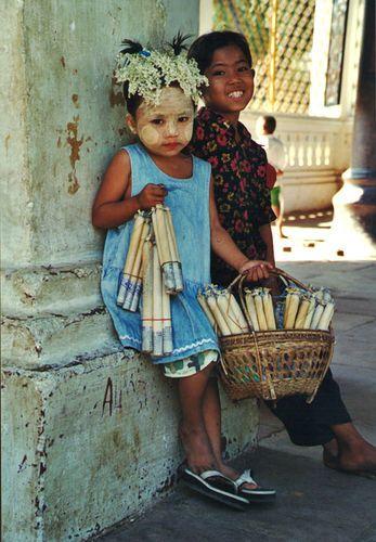 Little Street Vendors - Myanmar