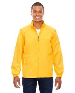 Core 365 åÊMen's Motivate Unlined Lightweight Jacket 88183 CAMPUS GOLD 444