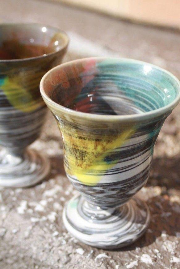 マーブル模様のカクテルグラスワインにも日本酒にも、お茶にもオススメです。※1個分の価格表記です。商品は、画像とは色合いやデザインが少々異なる場合がありますが、... ハンドメイド、手作り、手仕事品の通販・販売・購入ならCreema。