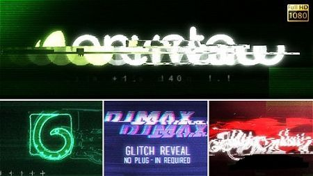 Videohive Glitch Reveal 8076659