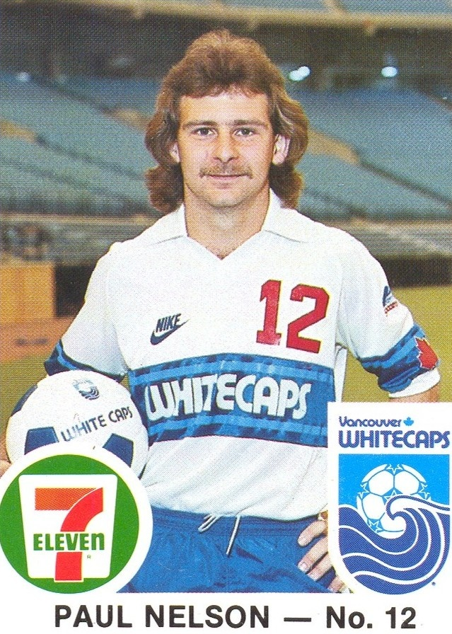 NASL Soccer North American Soccer League Players-Paul Nelson