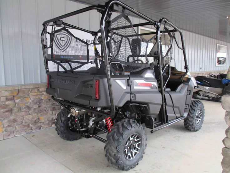 "New 2017 Honda Pioneerâ""¢ 700-4 Deluxe ATVs For Sale in Minnesota. GET THIS NEW 2017 HONDA PIONEER 700-4 DELUXE NOW ON SALE FOR A GREAT PRICE AT CAROUSEL MOTORSPORTS IN DELANO.  Please call for current price as manufacturer allows advertising only MSRP.  MSRP on this Pioneer is $ 13,499.00 + $ 670.00 freight.  The updated Honda Pioneer 700-4 Deluxe.  Honda took the best of it's Pioneer options and dressed it up with the Deluxe package, giving you the most features and best value in it's…"