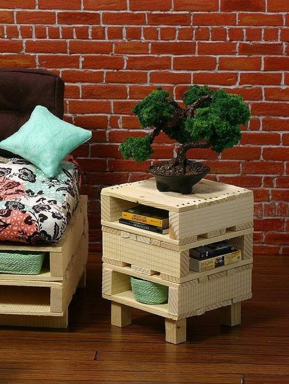 Pallet - end table