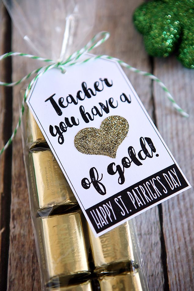 Teacher You Have A Heart Of Gold Free Printables