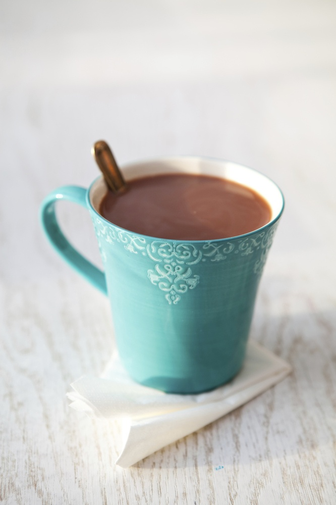 Hot chocolate with mix ins
