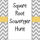 This scavenger hunt can be used to review finding the square root of perfect and estimating the square root of imperfect squares Directions: Pri...