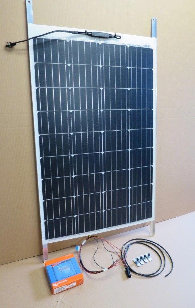 Solar Camper Solutions Vw T5 T6 Bolt On Solar Kit Not California In 2020 Solar Panels Solar Panel Installation Solar Panel Kits