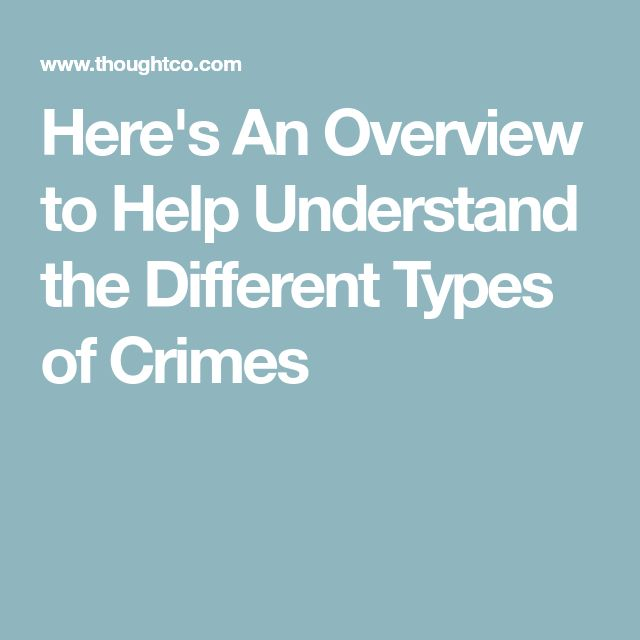 the definition of computer crimes and the different types of crimes Definitions of crime criminologist paul tappan defines crime as an intentional act or omission in violation of criminal law, committed without defense or justification, and sanctioned by the state as a felony or misdemeanor.