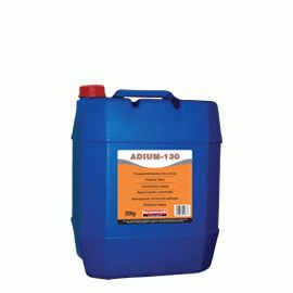 ADIUM 130: Liquid polycarboxylic-based admixture acting as as concrete superplasticizer. When added during preparation of concrete, reduces water demand up to 20%. When added to the ready-mixed concrete improves significantly its workability (self-compacting concrete) without need of additional water. Ideal for long-time delivery of ready-mixed concrete when long slump retention and workability is required.