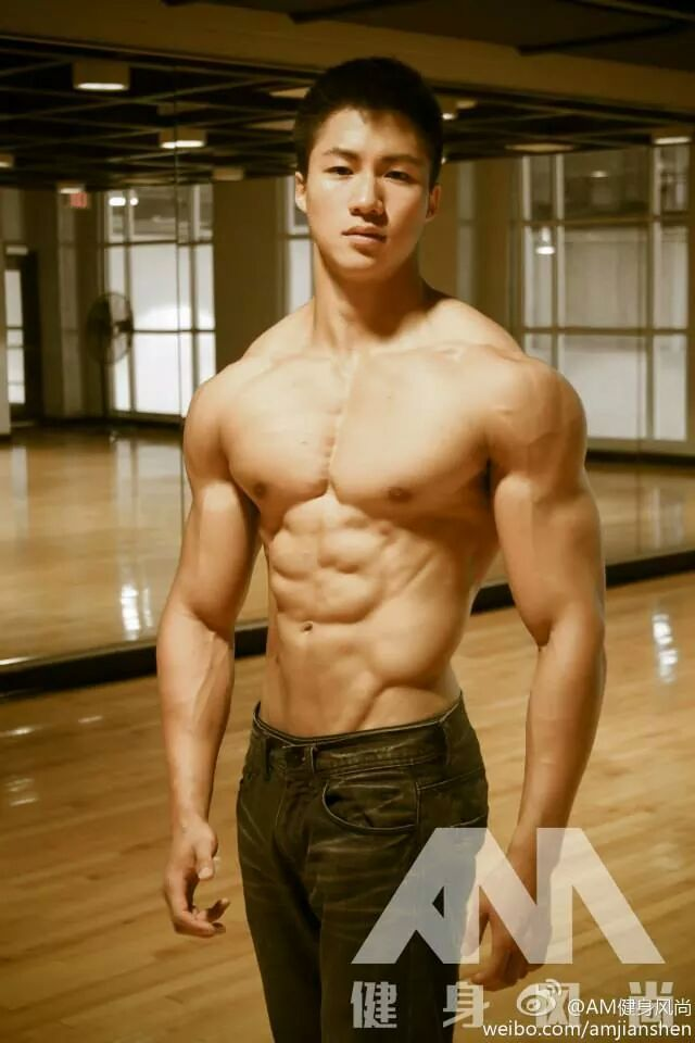 Teen asian muscle