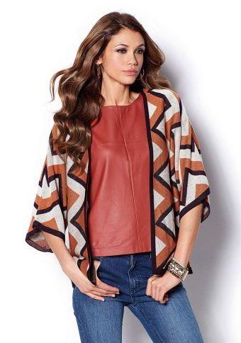 Kardigán s etno vzorom #ModinoSK #kardigan #etno #moda #trend #styl #fashion #autumn #fall #modern