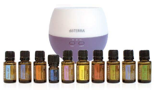 Everything you need to start your oily journey!Kit Includes:- doTERRA Petal Diffuser- 15ml Oregano - 15ml Tea tree - 15ml Lemon - 15ml Frankincense - 15ml On Guard - 15ml Lavender - 15ml Pepperment - 15ml Digestzen - 15ml Easy Air- 5ml Ice Blue+FREE+ Product of the Month+ Fractunated Coconut Oil+ Personal Wholesale AccountShop Now | Pay Later with Afterpay or ZipPay!