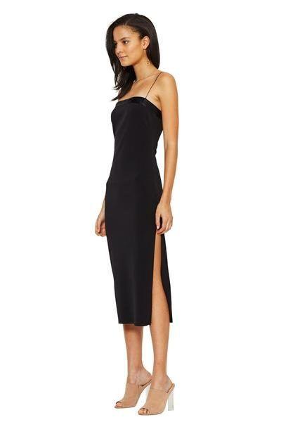 bec and bridge - Cosmology Flute Dress Black