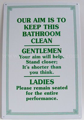 78 best toilet humor images on pinterest funny pics for Keep bathroom clean signs