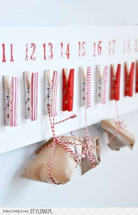 Clothespin Advent