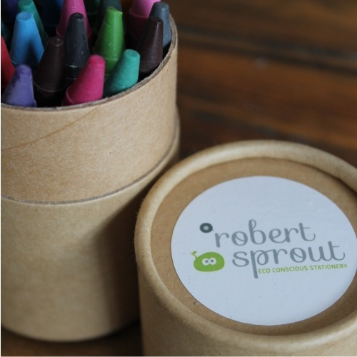 Eco friendly non-toxic crayons www.robertsprout.co.za