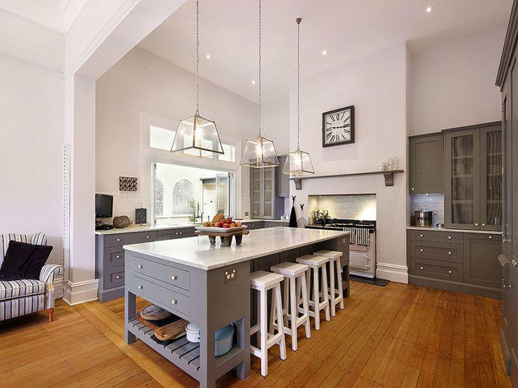 Stunning grey + white kitchen - 81 Osborne Road, Burradoo, from domain.com.au