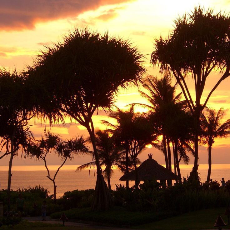 Bali sunsets can be amazing. Close to Tanah Lot Temple, Tabanan, Bali, Indonesia.