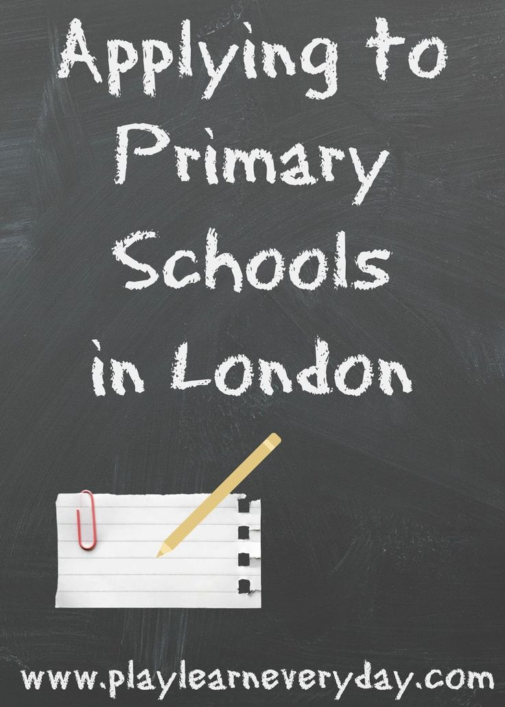 A step by step account of how to apply for primary schools in London (written by a Mum and former teacher).