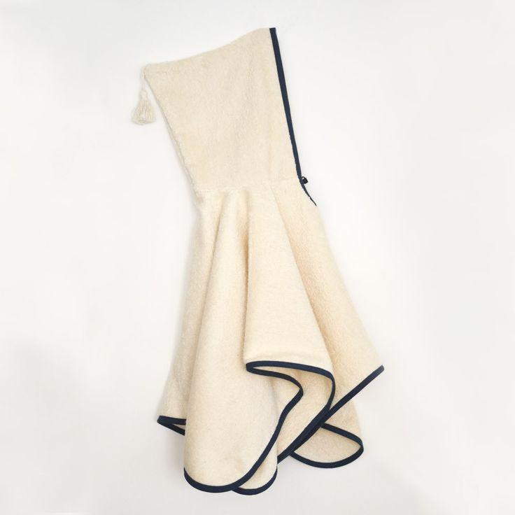 Patron de couture Poncho peignoir enfant Marouette