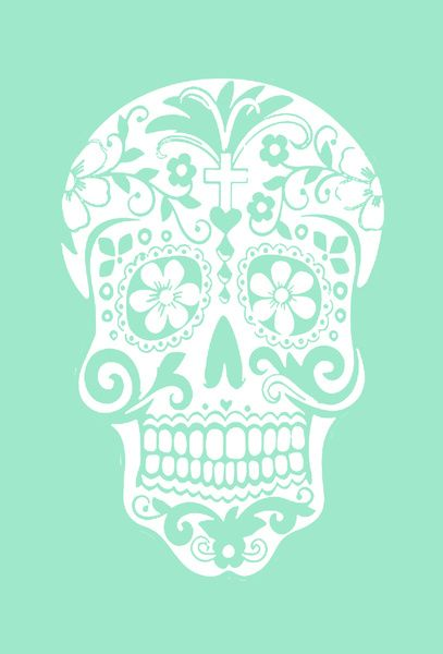 Skull Candy Hipster iPhone Wallpaper...