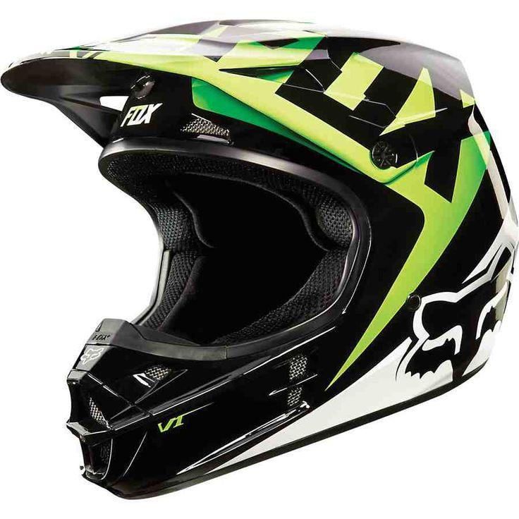 Green Dirt Bike Helmets