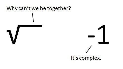 Math has a way of complicating love...    #mathjoke #mathchat
